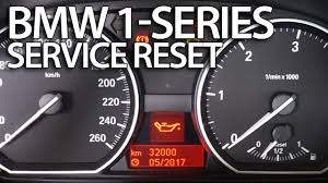 bmw service info icons bmw 1 series service reset e81 e82 e87 e88 mr fix info