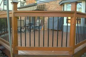Decking Handrail Ideas Deck Handrail Designs Cincinnati Lou Vaughn Remodeling
