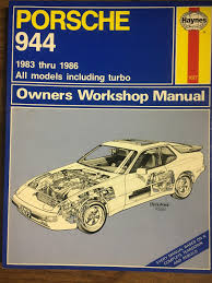 porsche 944 owners workshop manual all porsche 944 models