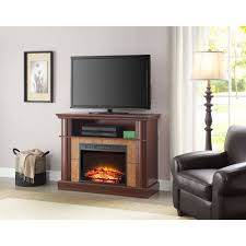 Tv Stand With Fireplace Chimneyfree Media Electric Fireplace For Tvs Up To 65