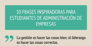 imagenes inspiradoras para estudiantes frases para estudiantes de administración de empresas by federico