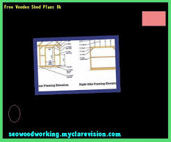 free wooden shed plans uk 083653 woodworking plans and projects