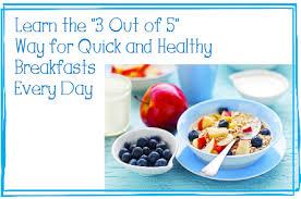 kid friendly healthy breakfast recipes
