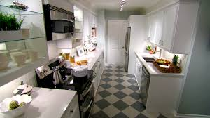 narrow kitchen design ideas small kitchen design ideas hgtv