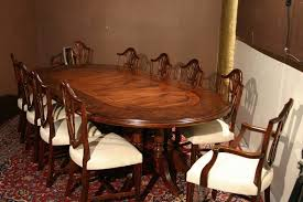 Oval Dining Room Table Oval Dining Table For 10 Best Dining Table Ideas