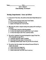 reading wonders grade 3 unit 1 week 4 comprehension worksheets by