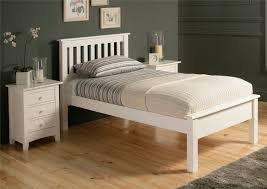 shaker solo white wooden bed frame lfe purchased for emily u0027s