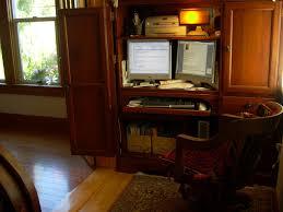 Armoire Desks Home Office Armoire Office Desk Crafts Home
