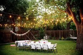 Backyard Wedding Ideas Simple Backyard Wedding Outdoor Goods