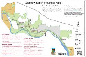 Map Alberta Canada by Glenbow Ranch Cochrane Hiking Alberta Hiking With Barry