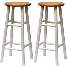Bar Stool Sets Of 2 Set Of 2 Bar Stools Beech Wood 30 White And Walmart 25