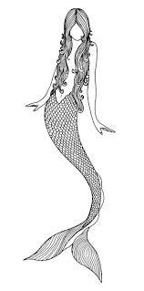 mermaid tattoo drawing google