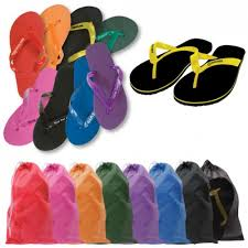 flip flop bag flip flops with mesh bag it s my mitzvah