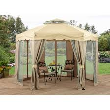 Outdoor Net Canopy by Palm Springs 10 U0027 X 30 U0027 Party Tent Wedding Canopy Gazebo Pavilion W
