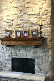 updating stone fireplace decor natural design ideas with tv above