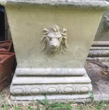 concrete planters for sale vintage concrete lions head planters for sale in houston tx