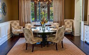 Oversized Dining Room Chairs Fascinating Home Library With Oversized Wall Photo Also Hidden