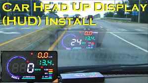 car head up display a8 5 5