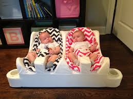 table height baby bouncer twin baby feeding system table for two