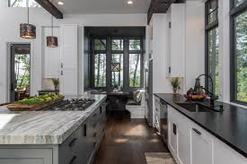 black kitchen countertops with white cabinets 75 beautiful white kitchen with black countertops pictures