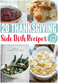 20 thanksgiving side dish recipes today s creative