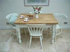 Shabby Chic Kitchen Table by Shabby Chic Kitchen Table U0026 Chairs With Cath Kidston Seat Pads