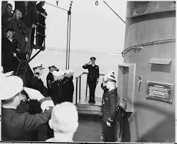 file british king george vi pays a visit to president harry s