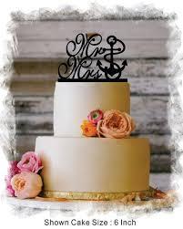 anchor wedding cake topper wedding cake toppers editor s etsy picks knotsvilla