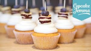how to make blueberry pancake cupcakes cupcake jemma youtube
