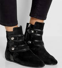 short black motorcycle boots new arrivals flat heel suede leather women boots short black ankle
