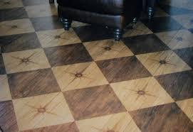 painted plank floors harlequin design hardwood flooring painting