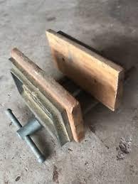 vintage craftsman 506 51920 woodworking bench vise wood usa ebay