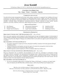 Sample Resume For Construction Manager Sample Resume Construction Resume Samples And Resume Help