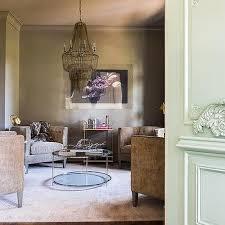 Maxim Chandelier Alyssa Rosenheck Brown And Gold Living Room With Arteriors Maxim