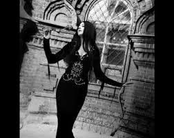 Morticia Addams Dress Morticia Dress Etsy