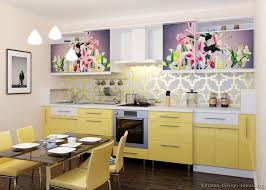 white and yellow kitchen ideas kitchen of the day a space saving design with modern yellow