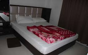 double bed ac deluxe room with double bed sheetal residency jaigaon