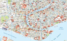 venice map digital vector venice city royalty free map in illustrator or pdf