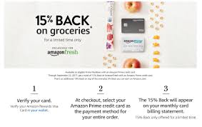 amazon prime black friday cards free 15 back on amazon fresh for prime members with a prime credit