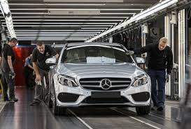 mercedes of germany 2015 mercedes c class production begins in bremen