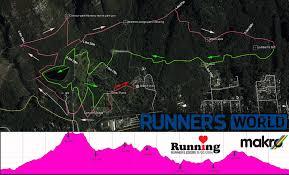Running Map Route by Running Race Calendar Runner U0027s World Love Running