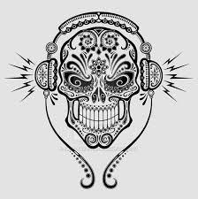 dj sugar skull by jeff bartels on deviantart