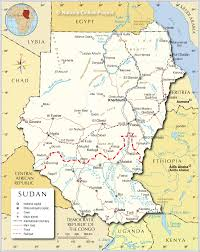 Interactive Map Of Africa by Political Map Of Sudan Nations Online Project