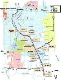 denver light rail expansion map transportation expansion project wikipedia