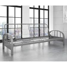 aiden futon frame with full futon mattress indigo essence
