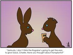 Chocolate Bunny Meme - evil easter bunny evil easter bunny 4166 jpg poor kid mean