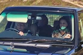 Queen Elizabeth Shooting The Queen Chauffeurs Kate Middleton To Grouse Shoot On Balmoral