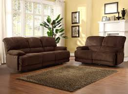 Microfiber Reclining Sofa Sets Brown Leather Reclining Sofa Sets Glif Org