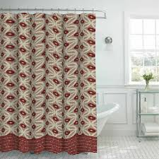 Shower Curtains With Red Shower Curtain Sets Shower Curtains For Bed U0026 Bath Jcpenney