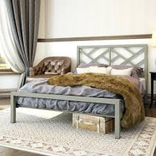 Metal Frame Headboards by Riser Bed Frame Bedroom Furniture Contemporary Metal Bed